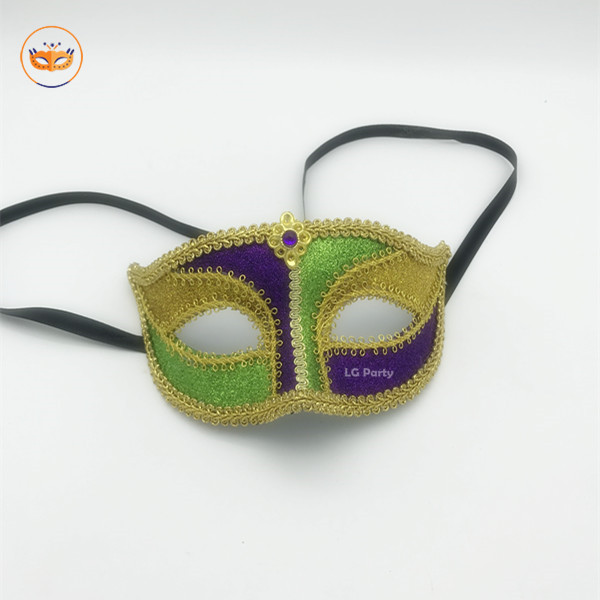 PGG Mardi Gras Lace Mask Venetian Mask Costume Party Accessory