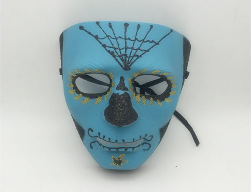 3 Styles Adult Glitter Mask Day of the Dead Sugar Skull Full Face Masks