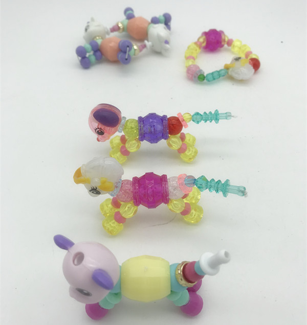 Twisty Petz Unicorn Cat Dog Lion Magic Bracelet Necklace