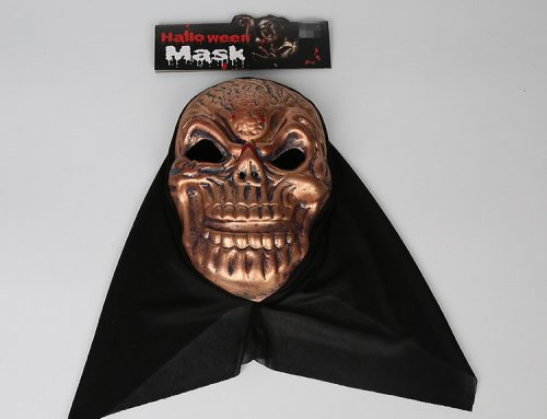 Lego Party Skull Mask Halloween Mask W Black Veil Novelty Mask