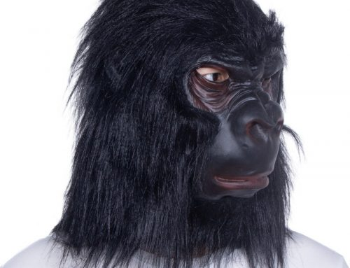 Gorilla Latex Mask Animal Costume for Halloween Party