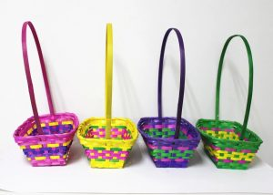 Bamboo Easter Egg Basket