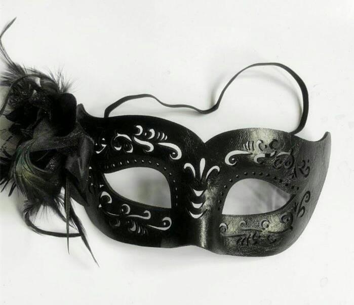 Black Steampunk Eyemask