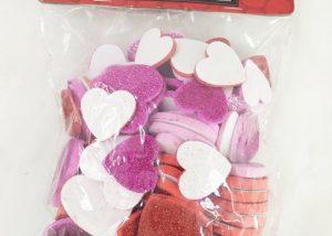 Dollarma Valentine Foam Heart Stickers Wedding Supplies Party Gifts