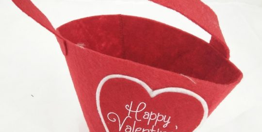 Valentine Gift Bags Red Tote Bag