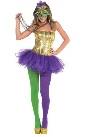 Adult Venetian Mardi Gras Costume
