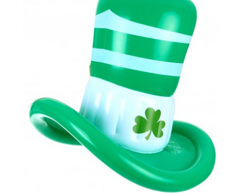 Inflatable St Patrick's Hat 1.5 Feet Green Inflatable Hat For Party City