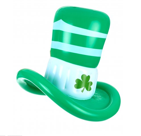 Inflatable St Patrick's Hat