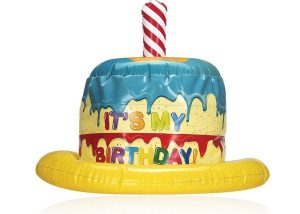 My Birthday Party Inflatable Hat