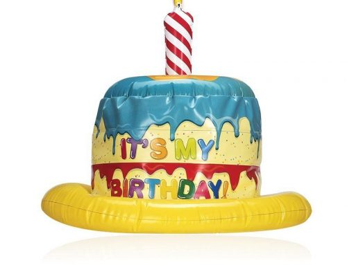 It's My Birthday Party Hat Inflatable Party Novelty Toy