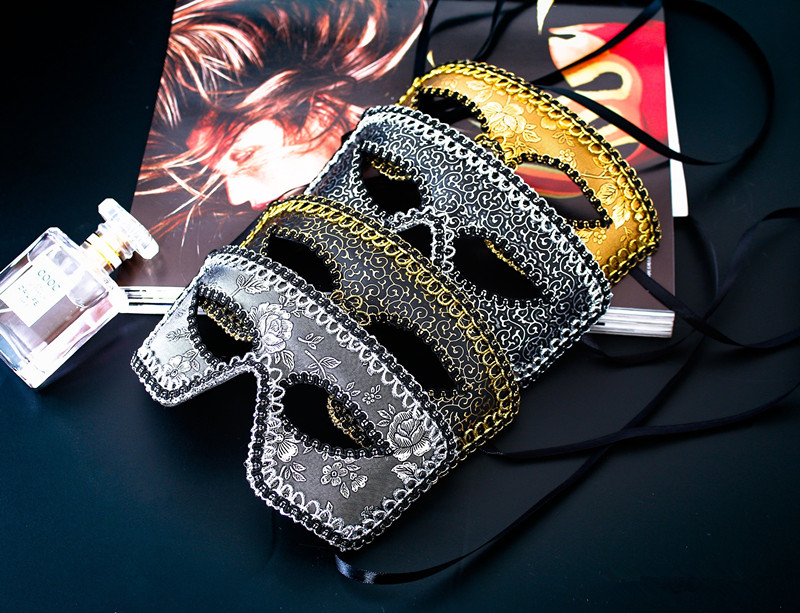 Men's Masquerade Masks Lace Mask