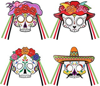 Cinco De Mayo Day Of The Dead Sugar Skull Mask