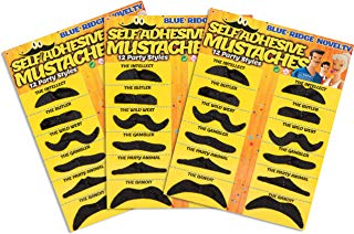 Self Adhesive Fake Mustache Novelty