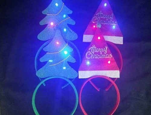 Led Light Christmas Tree Headband Glitter Decoration Party Hair Accessories
