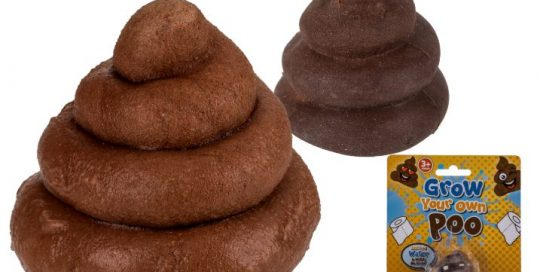 Grow Your Own Poo Novelty Toy For Out Of The Blue