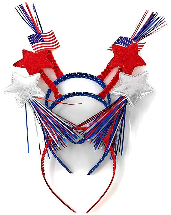 Bulk Patriotic Head Bopper