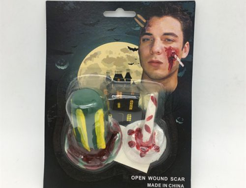 Halloween Props Open Wound Scar Fake Bloody Wound