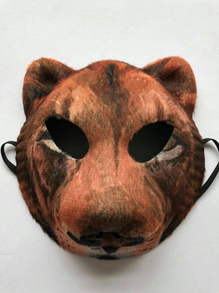 Animal Mask Lion Mask Costume Headwear