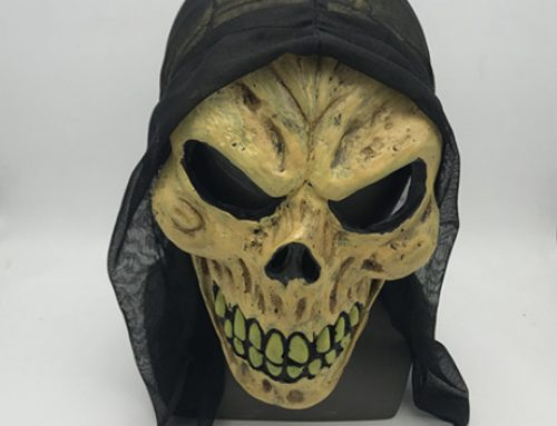 Adult Skull Skeleton Mask For Halloween Party Full Head Latex Mask