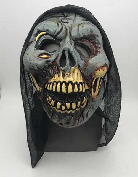 Death Novelty Mask Halloween Black Veil Mask