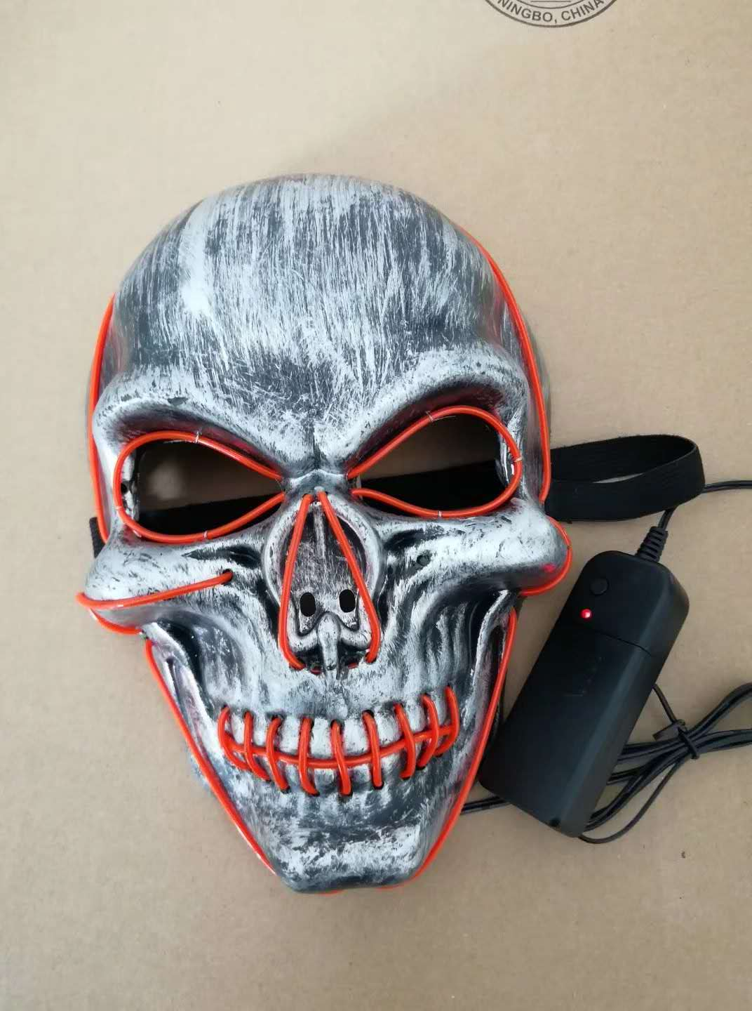 Halloween Scary Light Up Masks LED Skull Masks
