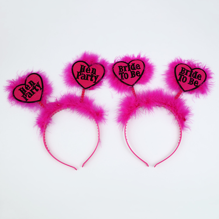 Bride To Be Headbands Hen Party Supplies