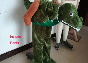 Halloween Piggy Back Crocodile Ride On Animal Costumes