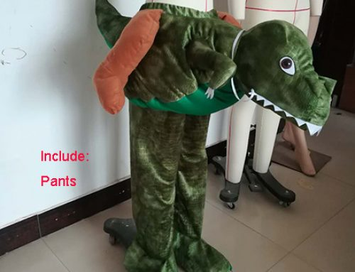 Adult Piggy Back Crocodile Fancy Dress Carry Me Animal Costume