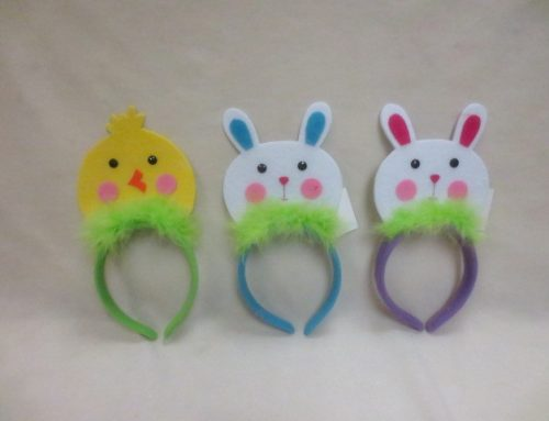 Novelty Soft Bunny Chicken Easter Headbands Costume Accessories