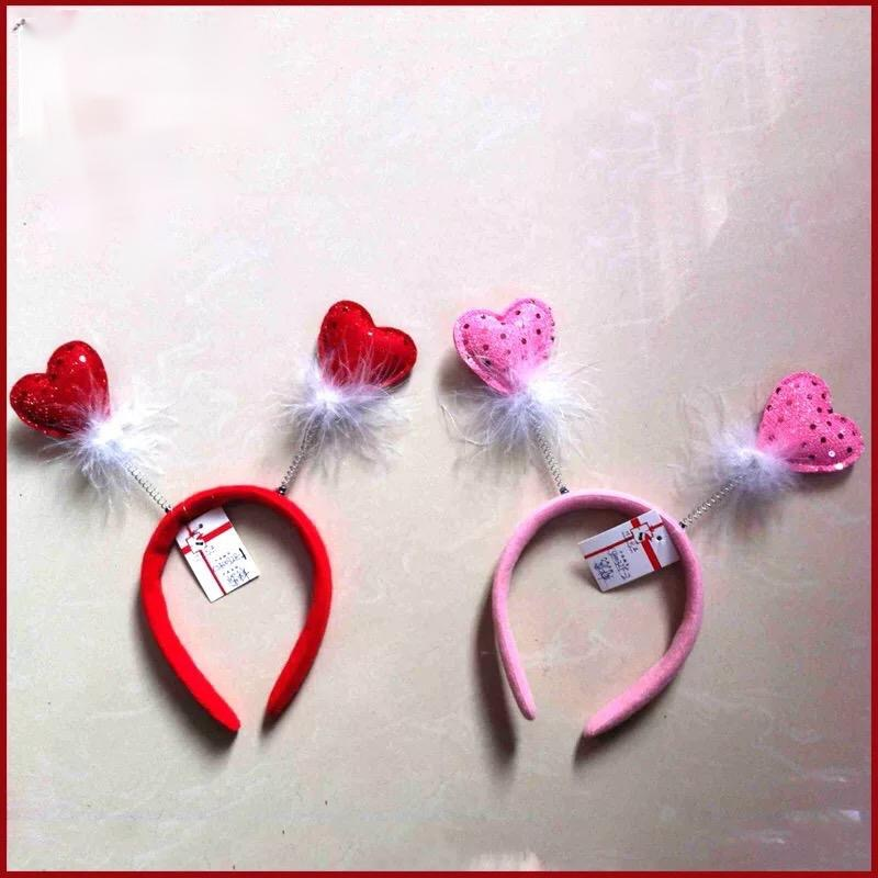 Love Heart Headband Valentine's Day Hair Accessories