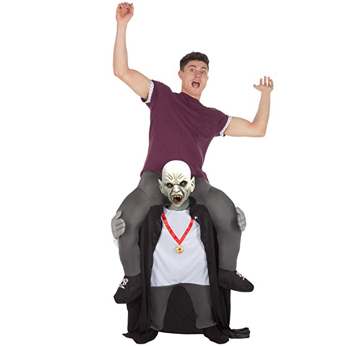 Zombie Costume Riding Shoulder Costume