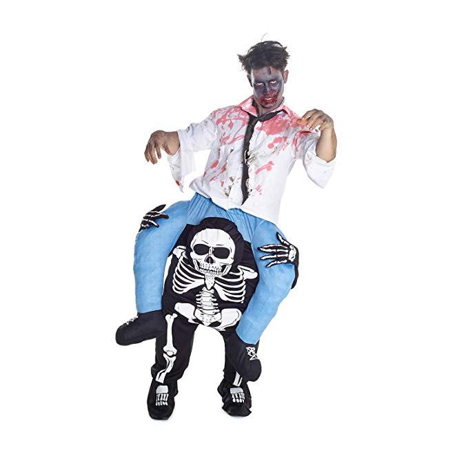 Hhalloween Skeleton Costume Riding Shoulder Costume