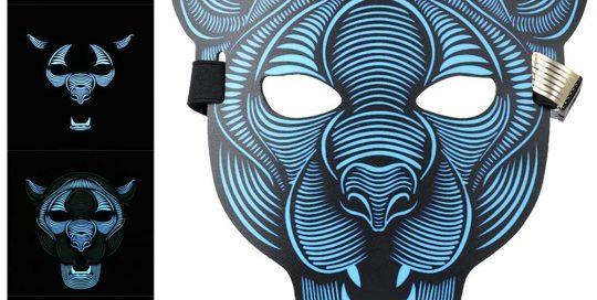 LED Halloween Maske Wolf Costume Maske