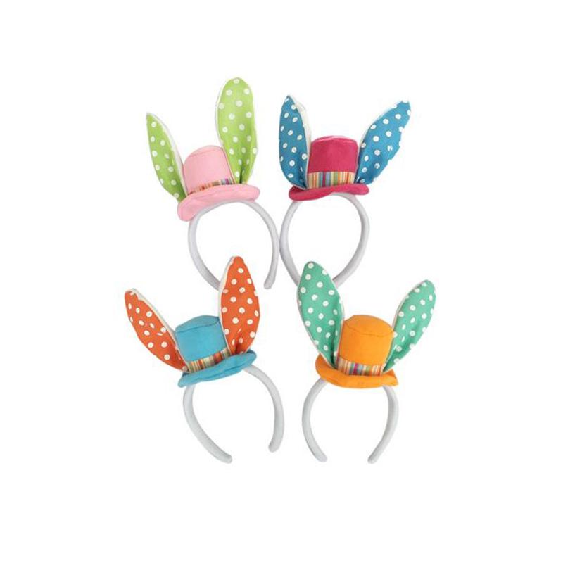 Easter rabbit plush ear headband