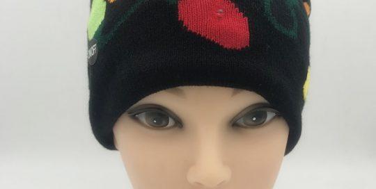 LED Light UP Beanie Hat Christmas Hat Santa Claus Xmas Gifts Cap