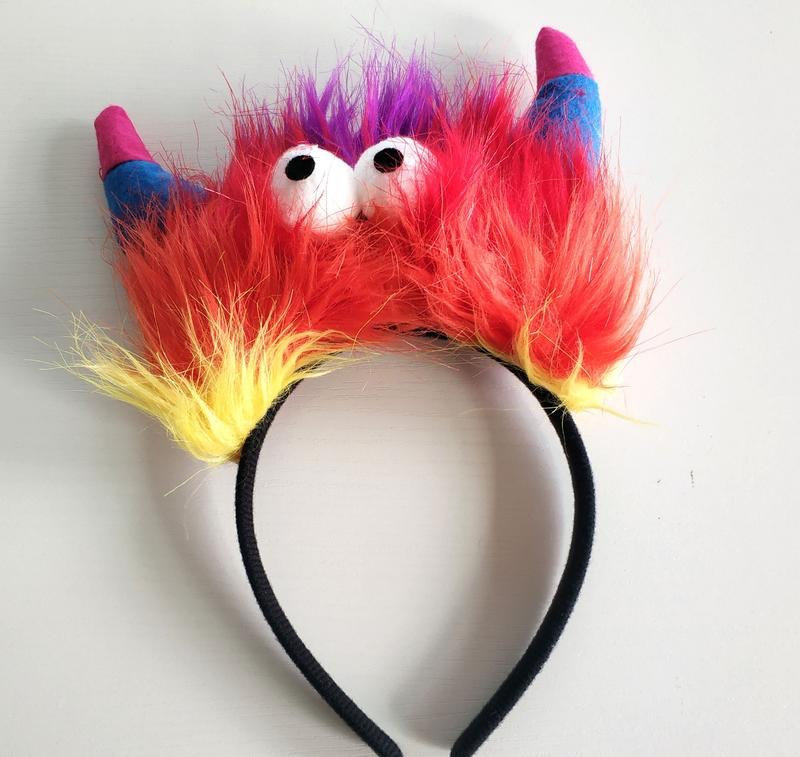 Cartoon Devil Horns Headband