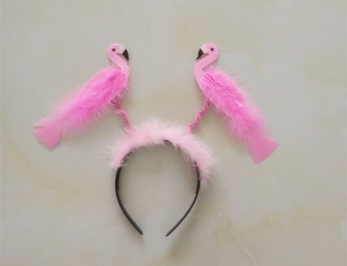 Amscan Flamingo Party Glitter Headband Summer Party Head Bopper