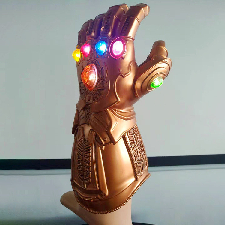 Men Toy Thanos Infinity Gauntlet PVC Gloves Cosplay Props