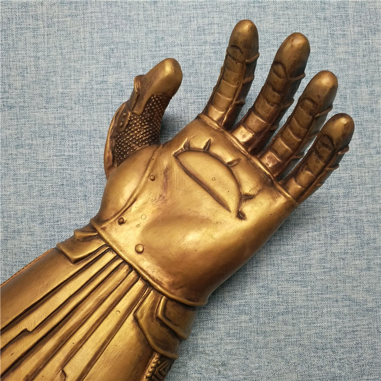 Infinity Gauntlet LED Light Up PVC Thanos Gloves Electronic Fist for The Avengers Cosplay Prop Costume