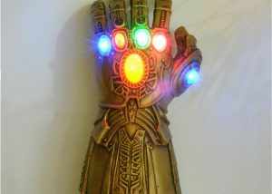 Infinity Gauntlet LED Light Up PVC Thanos Gloves