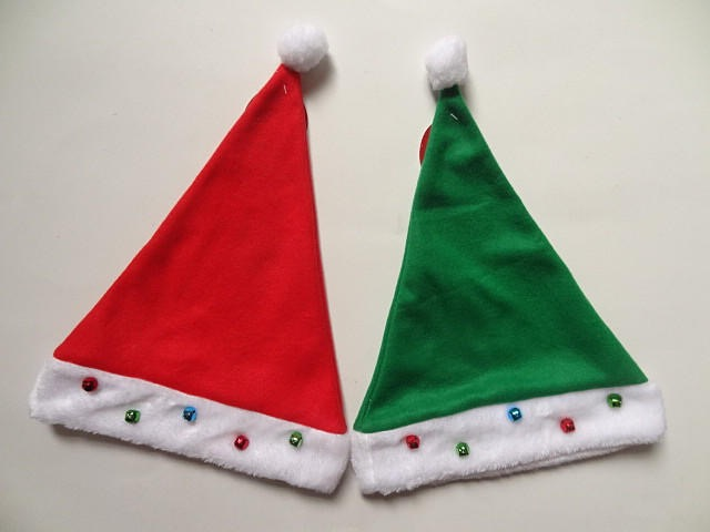 Santa Hats For Christmas Holiday