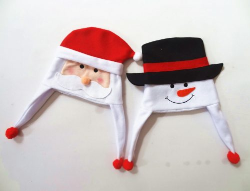6 Pack Christmas Santa Hat Elf Hat Snowman Hat for Children and Adults