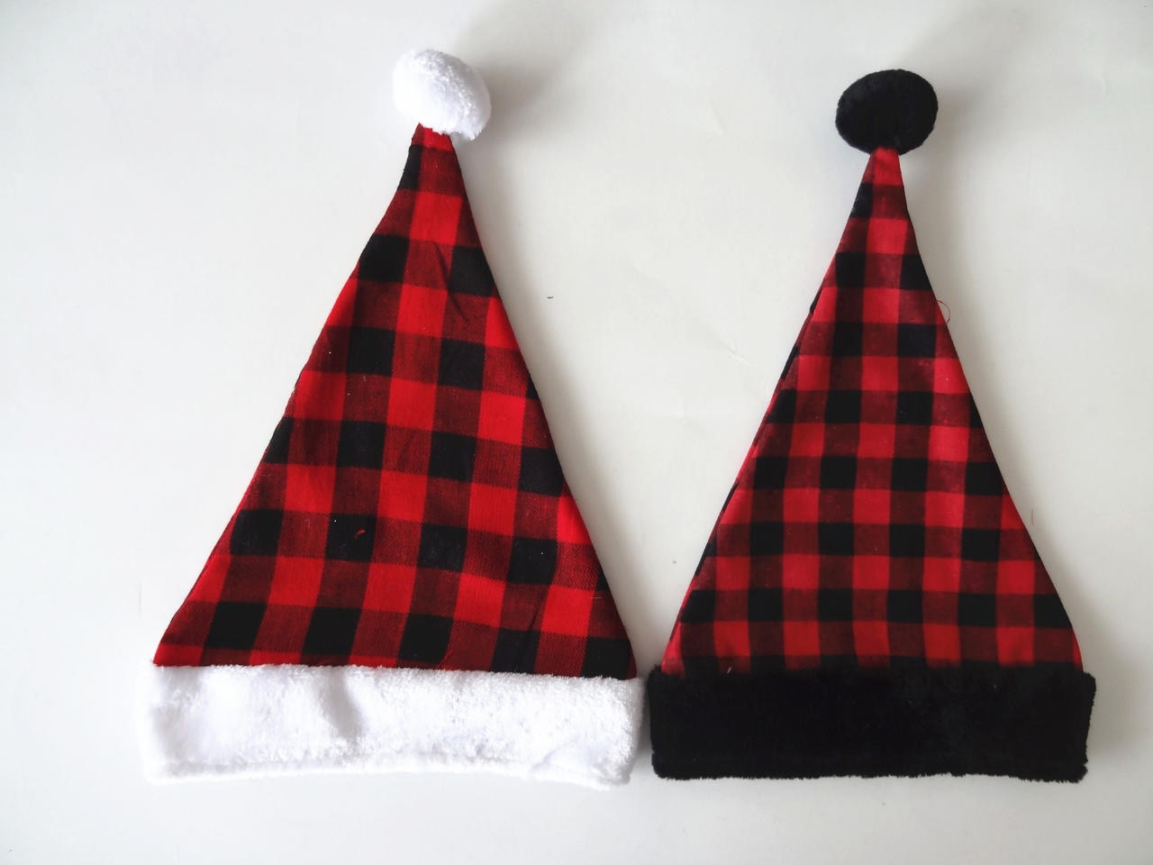 Christmas Hats Grating Hats Red Black Hats