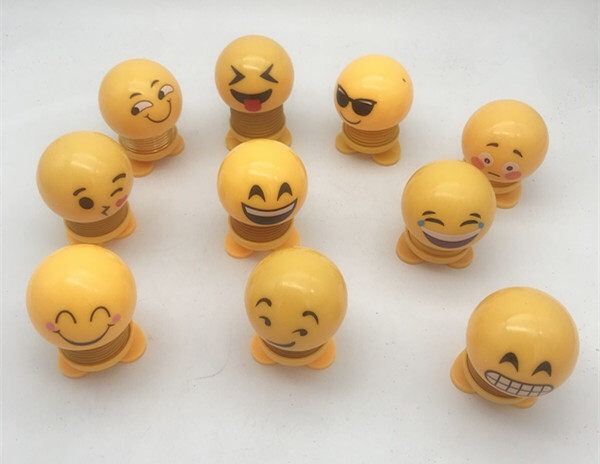 14 PCS ASST Tik Tok Best-Seller Smiling Face Spring