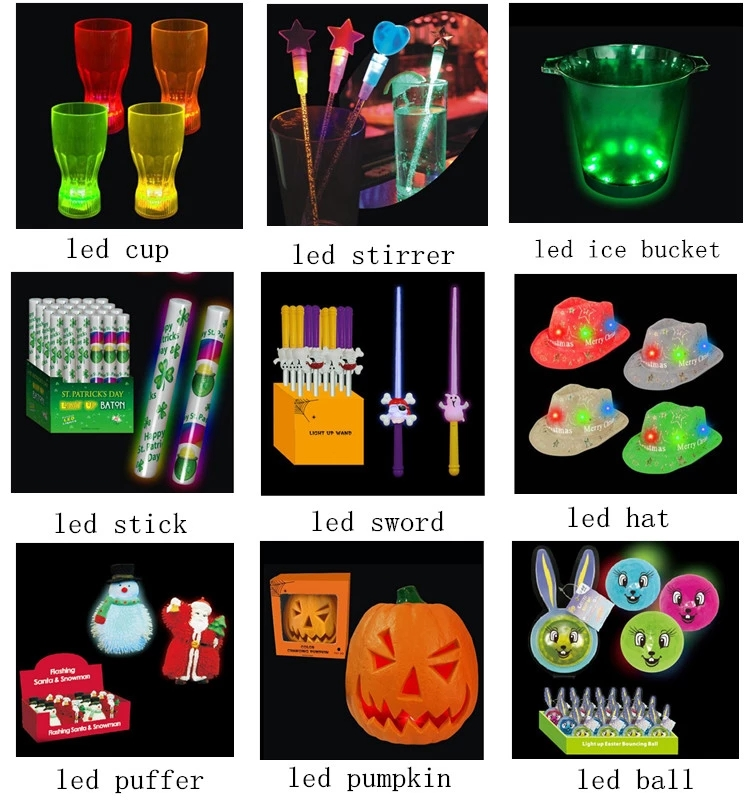 Party LED Light Up Supplies