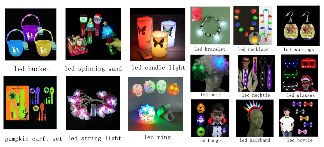 Costume Party LED Light Up Supplies