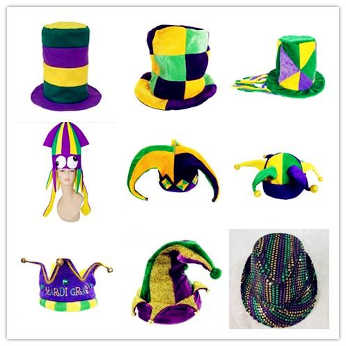 Mardi Gras PGG Hats Jester Hats