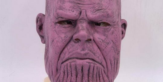 Thanos Full Head Latex Mask