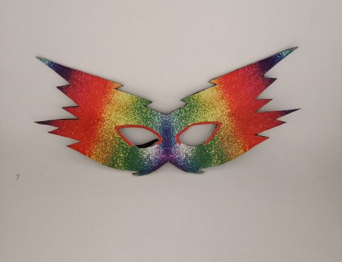 Carnival Party Masks Rainbow Pride Party Costume Headwear For Party City