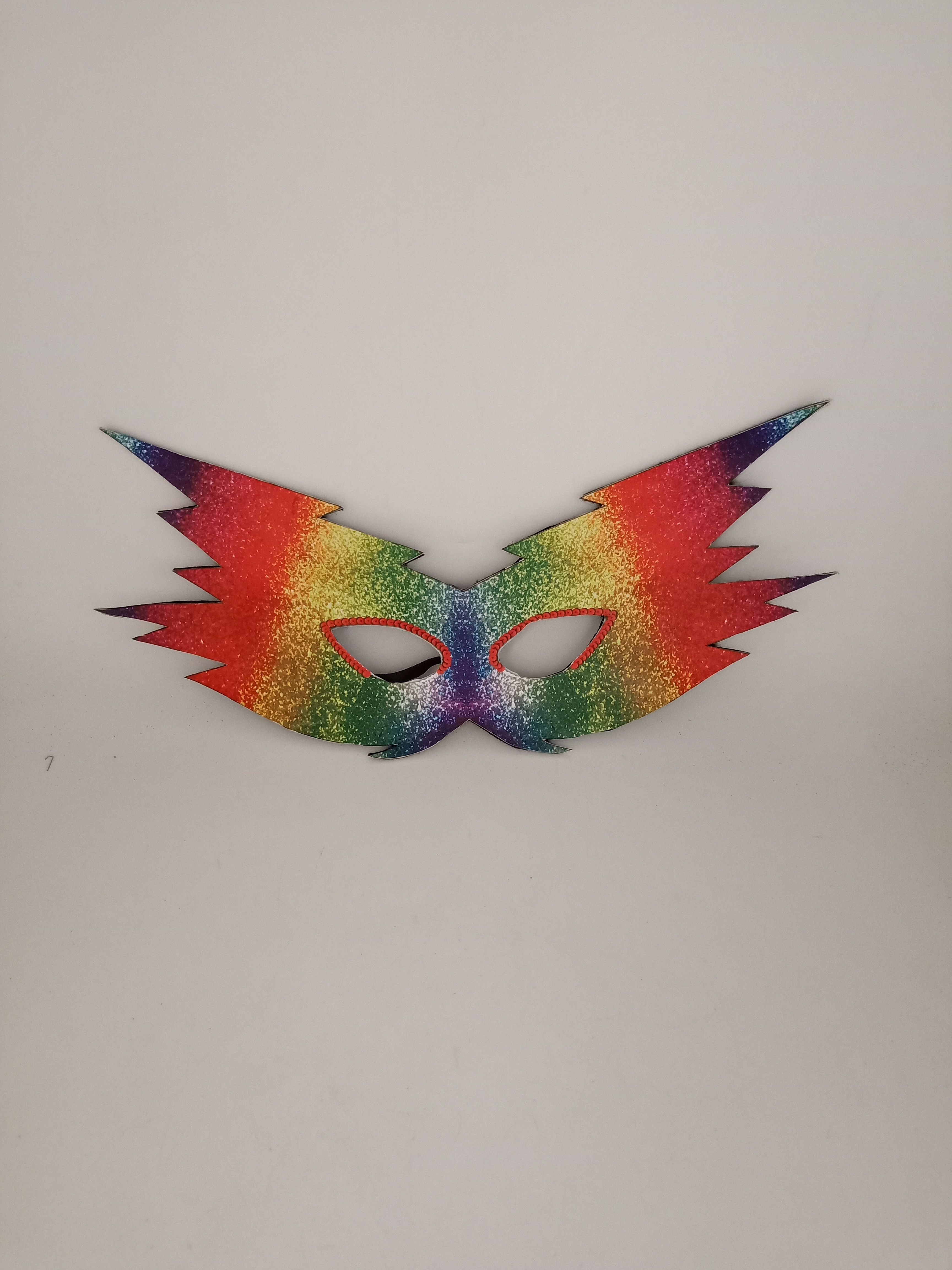 Carnival Party Masks Rainbow Pride Party Costume Headwear